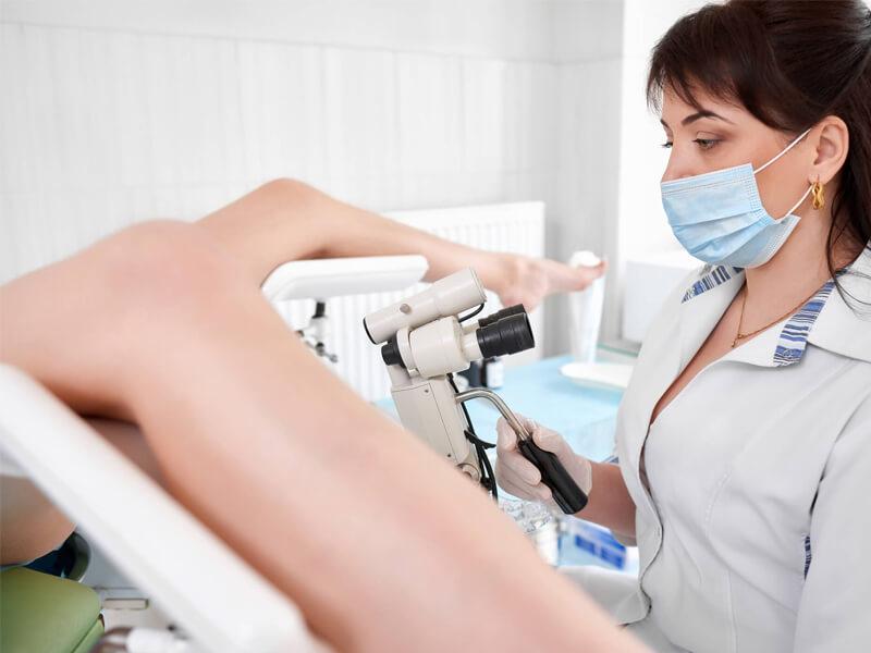 Exames Laboratoriais - Colposcopia
